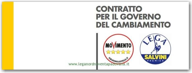 Contratto di Governo Lega – Cinque Stelle