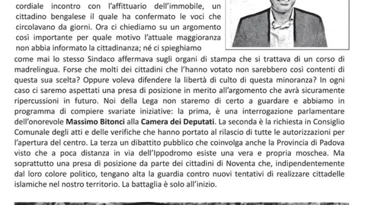 Volantino – Che Aria Tira! – Nr.1 luglio 2012