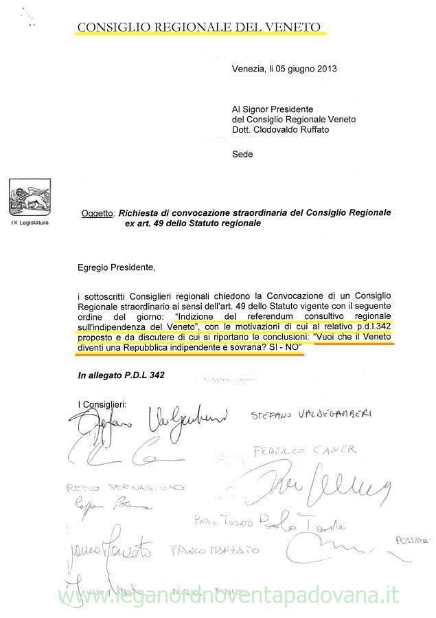Referendum: Indipendenza Veneta