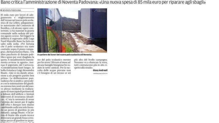 Il Mattino di Padova – sabato 10 agosto 2013