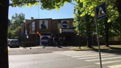 Inaugurato il punto elettorale lista civica Carraro