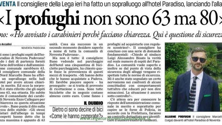 Il Gazzettino di Padova 11 maggio 2015