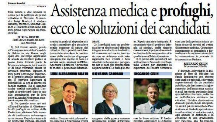 Il Gazzettino di Padova 21 maggio 2016
