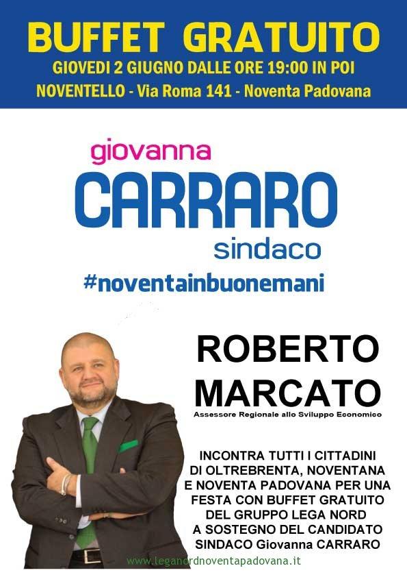 Il 2 giugno Lega in Festa con Roberto Marcato e Rete 4
