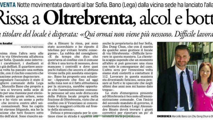 Il Gazzettino di Padova – 16 giugno 2016