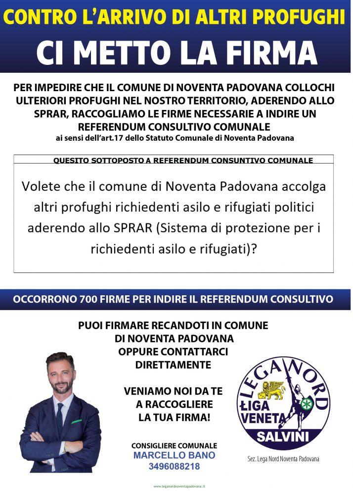 Referendum Consultivo Anti-Clandestini Lega Noventa Padovana
